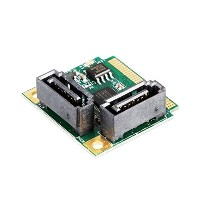 Mini PCIeスロット to Serial ATA (6Gbps)×2変換アダプター ec-onlineshop