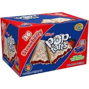 Kellogg's Pop-tarts?? Frosted Strawberry - 36 ct. by Kellogg's [Foods] by Kellogg's [並行輸入品]