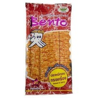 Bento Cuttle Fish Sweet and Spicy Flavoured 24 Grams by Thailand [並行輸入品]