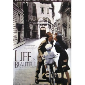 LIFE IS BEAUTIFUL POSTER (68,5cm x 101,5cm)