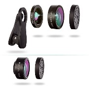 LS-PRO Best quality 3 in 1 Clip-on Cell Phone Camera Lens Kit,15x Macro Lens+0.36x Super Wide Angle...