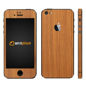 wraplus for iPhoneSE & iPhone5S/5 【オーク】 スキンシール
