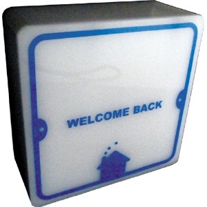 HOUSE USE PRODUCTS(ハウスユーズプロダクツ) ナイトライト LED NITE-LITE WELCOME WELCOME [正規代理店品]