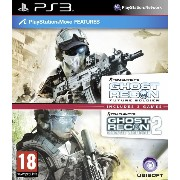 Tom Clancy's Ghost Recon Double Pack - Includes Ghost Recon Future Soldier & Advanced Warfighter 2 ...