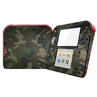 Linyuan 安定した品質 Ultra thin Cover Case Skin Sticker ステッカー for Nintend 2DS ZY0166#