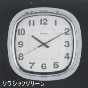 [DULTON]ダルトン クロックSQUARE WALL CLOCK CL GREEN S72679CGN
