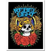 REBEL8(レベルエイト) ポスター Gr8ful Black Light Poster