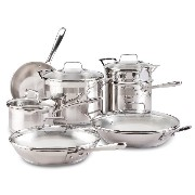Emeril by All-Clad E884SC74 Chef's Stainless Steel 12-Piece Cookware Set, Silver[並行輸入]