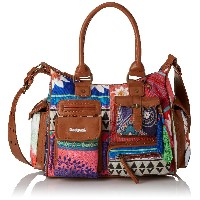 デシグアル(Desigual)BOLS LONDON MEDIUM HAPPY BAZAR BORGO?A CLARO88-61x50j9-3041