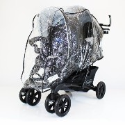 GRACO QUATTRO DUO TWIN TANDEM DOUBLE RAINCOVER by Baby Travel