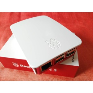 Raspberry Pi 3 B ケース Raspberry Pi 2 B ケース Official case (Red-White)