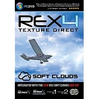 REX 4 Texture Direct - HD with Soft Clouds (FSX+P3D) (輸入版)