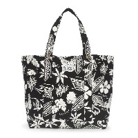 POLO RALPH LAUREN FLORAL COTTON CANVAS TOTE ポロラルフローレンハワイアン柄トートバック [並行輸入品]