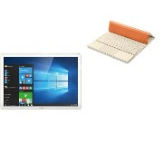 HUAWEI Matebook M5-4G-128G-5MP Gold + Portfolio Keyboard Orange セット