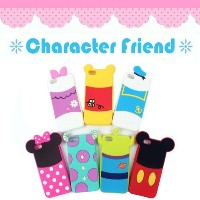 【iPhone6 4.7インチ】i6 (Im) Character Friend Silicon Case/ディズニー/シリコン/iPhone6 4.7インチケース/iPhone6 4.7inch ケース/iphone6...