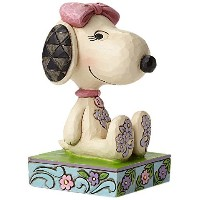 Enesco(エネスコ) Peanuts by Jim Shore Belle Personality Pose 4049408 [並行輸入品]
