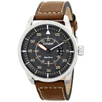 シチズン Citizen Men's AW1361-10H Sport Analog Display Japanese Quartz Brown Watch 男性 メンズ 腕時計 【並行輸入品】