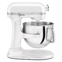 KitchenAid Pro Line Series 7 Qt Bowl Lift Stand Mixer - KSM7586PFP - Frosted Pearl White 並行輸入品