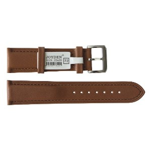 22mm カーフ革レザー時計バンドストラップ Calfskin Genuine Leather Watch Band Strap [JOYDEN_72]