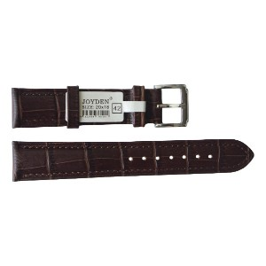 20mm カーフ革レザー時計バンドストラップ Calfskin Genuine Leather Watch Band Strap [JOYDEN_42]