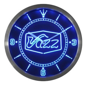 LEDネオンクロック 壁掛け時計 nc0321-b Jazz saxophone Bar Music Live Pub Club Neon Sign LED Wall Clock