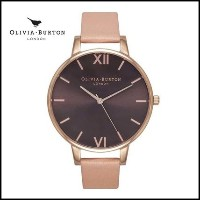 【大人気!】BIG DIAL /BROWN DIAL/ DUSTY PINK AND ROSE GOLD Olivia Burton(オリビアバートン) バイマ BUYMA