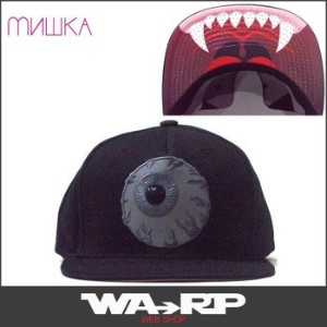 ミシカ MISHKA REFLECTIVE KEEP WATCH SNAPBACK(BLACK)