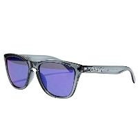(オークリー) Oakley FROGSKINS SUNGLASSES ASIAN FIT OO 9245-18 CRYSTAL BLACK/+RED IRIDIUM フロッグスキン...
