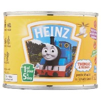 Heinz Thomas & Friends Pasta Shapes in Tomato Sauce 12 x 205g ハインツ トーマスと友達 トマトソース 205g