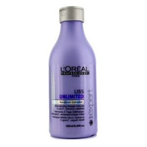[LOreal] Professionnel Expert Serie - Liss Unlimited Smoothing Shampoo (For Rebellious Hair) 250ml...