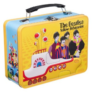 Lunch Box - The Beatles - Yellow Submarine Tin Metal Case Toys Licensed 64870