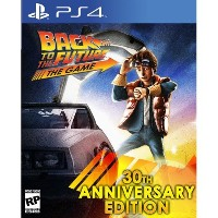 Back to the Future The Game 30th Anniversary Edition PS4 バックトゥザフューチャーザゲーム30周年記念版プレイステーション4 北米英語版 ...