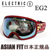 ELECTRIC(エレクトリック) エレクトリック ゴーグル ジャパンフィット EG2 RED YELLOW BLACK ROPE GREY GOLD CHROME JP (15-16 15 16...