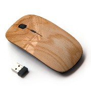 KOOLmouse [ ワイヤレスマウス 2.4Ghz 無線光学式マウス ] [ Smooth Plywood Colored Surface ]