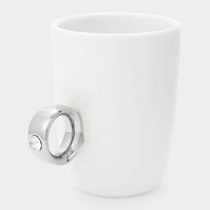 Floyd Cup Ring フロイド カップリング [ White x Silver クリア ]