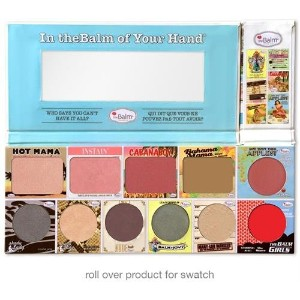 Thebalm In Thebalm Of Your Hand Greatest Hits Vol 1 Holiday Face Palette (並行輸入品) [並行輸入品]