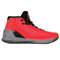 "Under Armour Curry 3 ""Red Hot Santa""メンズ Bolt Orange/Graphite/Black アンダーアーマー バッシュ カリー3 Stephen Curry..."