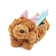 Bestever ベストエバー Pencil Case Toy Poodle BabyPinkrbn