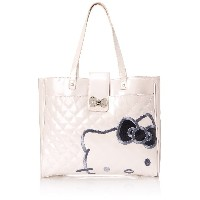 Hello Kitty Pink Quilted Structured Tote
