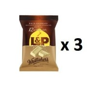 ウィッタカー Whittakers Share Pack Individually Wrapped Mini L & P Slab 180g bag 12pk 3EA [並行輸入品]