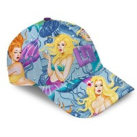 LoudMouth ラウドマウス キャップ Pearl Divers all over cap