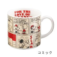 SNOOPY(スヌーピー) 木箱入りマグ コミック
