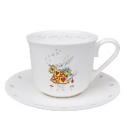 Sophie Allport 不思議の国のアリス カップ&ソーサー 大き目 450ml 英国 ソフィー・オールポート Alice in Wonderland Teacup and Saucer ...