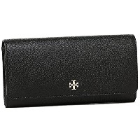 (トリーバーチ) TORY BURCH トリーバーチ 財布 TORY BURCH 11169072 001 ROBINSON ENVELOPE CONTINENTAL 長財布 BLACK ...