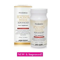 mosbeau PLACENTA WHITE ADVANCED 650mg×120tablets モスビュー プラセンタホワイト アドバンス