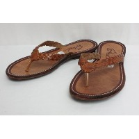 "GOSH ゴッシュ LEATHER SANDAL ""Lydia"" (TAN) 8inch"
