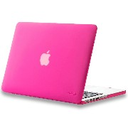 "Kuzy - Retina 13-Inch Neon Pink ゴム引きハードケース for MacBook Pro 13.3"" with Retina Display A1502 / A1425 ..."