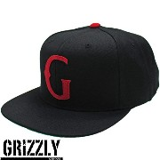 Diamond SUPPLY.CO Grizzly ( ダイヤモンドサプライ グリズリー ) Native G Snapback in Black