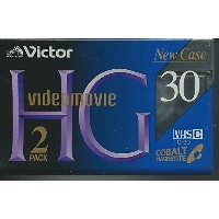 VHS-C カセット 2pack Victor TC-30