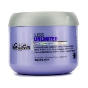 L'Oreal Professionnel Expert Serie - Liss Unlimited Smoothing Masque (For Rebellious Hair) - 200ml...